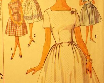 Rockin Lil Rockabilly Dress pattern Simplicity 5003 1960's