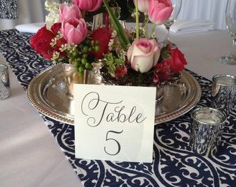 Wedding Table Numbers, Set of 20