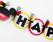Mickey Mouse Birthday Decorations   Mickey Mouse Birthday Party   Mickey Mouse Party   Mickey Mouse Birthday Banner   Mickey banner   Mickey