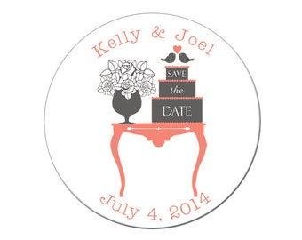 Save the Date Magnet, Wedding Announcement, Save the Date, Wedding Save the Date, getting married, Custom, Personalized, Wedding (4143)