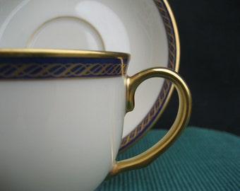 Lenox Fine China - Hamilton Presidential Collection - Cup and Saucer - 8 Perfect Sets Available  - Made in USA