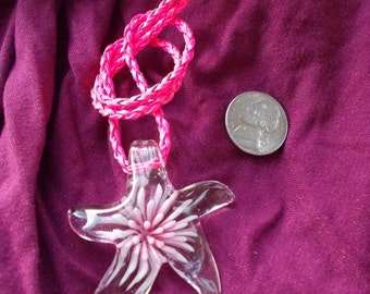 Pretty in Pinks Starfish Necklace