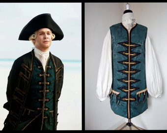 Lord Cutler Beckett's waistcoat - Pirates of the Caribbean