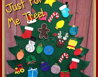 Just For Me Tree- Large Toddler Friendly Play Christmas Tree