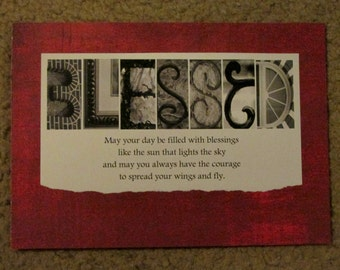 Blessed Talking Treasures Photo Gift 5x7 Framable Print