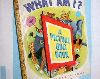 What Am I? A Picture Quiz Book, 1949 Little Golden Book
