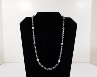 SPERRY Silver Tone Necklace