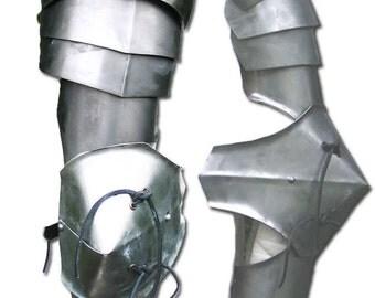 New pair of Medieval pauldron Warrior stainless steel Armor Larp SH14