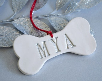 Personalized Dog Christmas Ornament with Name - Gift Boxed and Ready to Give