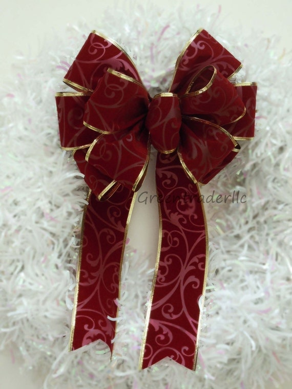 Outdoor Christmas Bow