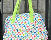 Diaper Bag - Rendezvous Fabric READY TO SHIP