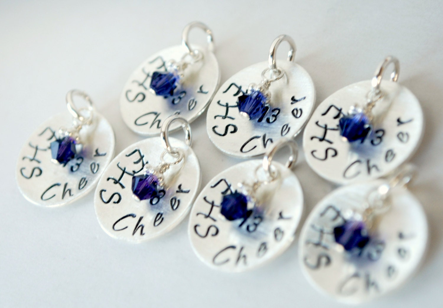 charm personalized cheer charm by studio463 on