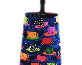 Car Trash Bag - Colorful Coffee Cups
