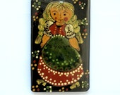 Vintage 1960s Scandinavian Style Wall Plaque