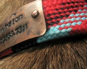 Riveting Tails: Copper ID tag w/ name & number