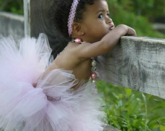 Baby Girl Tutu Skirt Set with Headband Photo Prop Baby Tutu Skirt