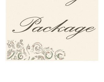 Party Package, Birthday Party Package, Baby Shower Party Package,