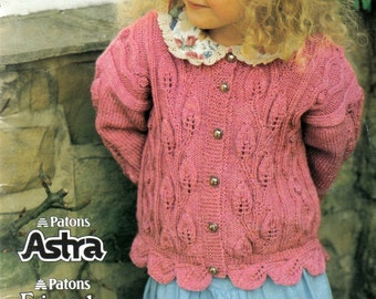 Patons 680 Little Darlin's Knitting Patterns for Boy's and Girl's Paton's Astra or Fairytale DK