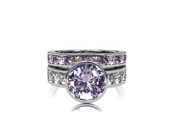 reserved listing light purple amethyst by torkkelijewellery