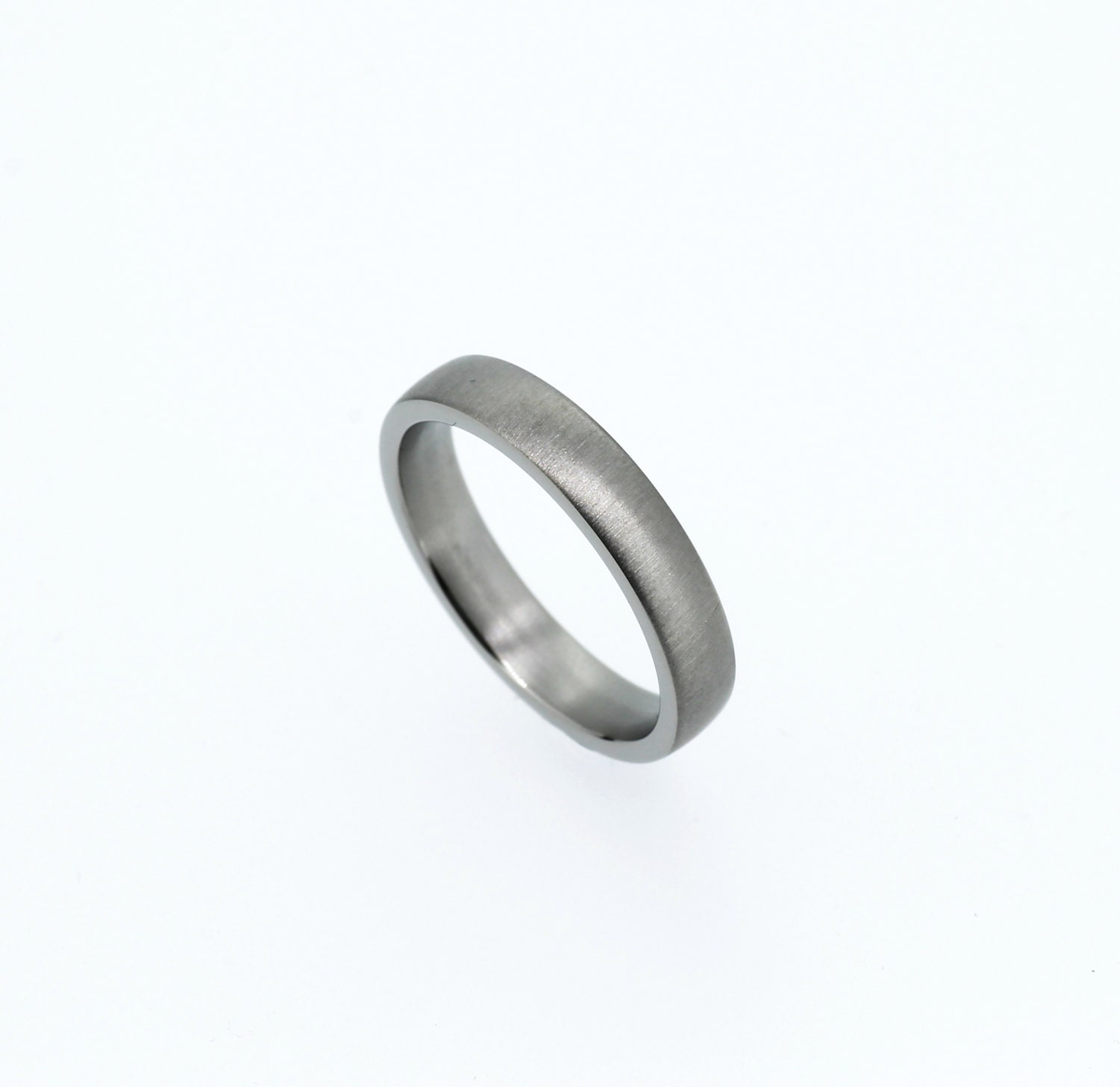 simple platinum wedding band matte wedding ring platinum