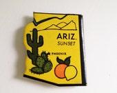 Arizona magnet Vintage puzzle piece