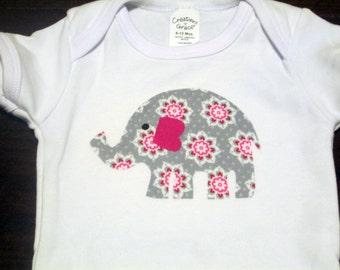 Elephant Iron On Applique