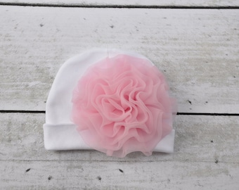 Newborn Baby Hospital Hat Baby Girls Hats for Coming Home from Hospital You Choose Color