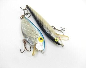 Set Fishing Vintage Lures, Rebel Vintage Lure, Metal Vintage Float, Vintage Tackle