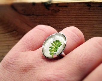 trendy jewelry, silver leaf ring, nature rings, sterling silver ring, cool ring, unique jewelry, nature jewellery, unique gifts for her