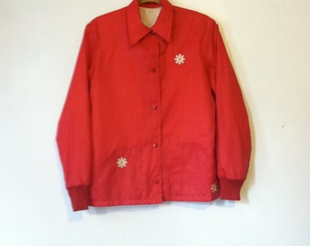 60s Daisy Royal Golf Raincoat