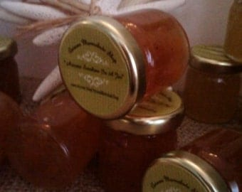 Mini Jam Mix N' Match Party Favors/ Last Minute Jams/1 .5 oz Ea/20 READY to SHIP-Special Event - DIY customization / Combo of 2 to 4 Flavors