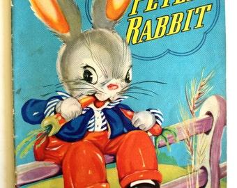 Peter Rabbit Book - Ruth E. Newton - Chubby Cubs 1940