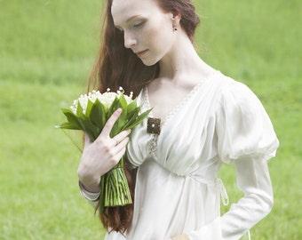 "Silk Chemise Dress ""The Accolade""; underwear chemise"