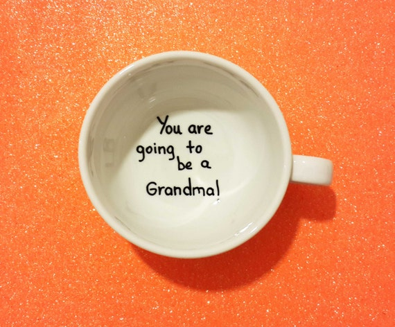 Pregnancy announcement, pregnancy announcement mug, you're goingto be a dad, you're going to be a grandma,pregnancy reveal to grandparents