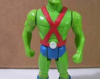 Dc Comics Super Powers Martian Manhunter Action Figure, Vintage Toy 1985, Kenner