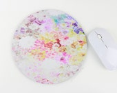 Mousepad / Floral Mouse Pad / Mat - Watercolor Flower Mousepad