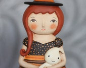 Custom order Reserved for Ladybugz60 Daria and her ghost doll