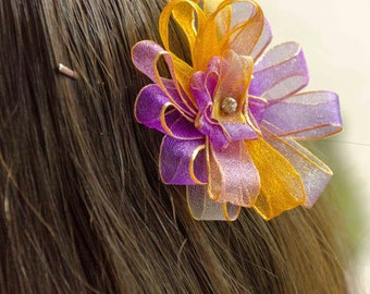 Flower Bobby Pin - Daisy Bobby Pin- Girl's Hair Accessories - Great Gift Idea - Multiple Colors Available