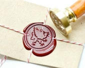 B20 Wax Seal Stamp Heraldic Mythical Animal Griffin