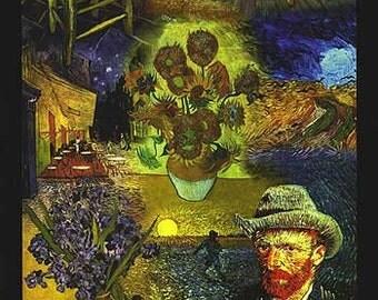 Vincent Van Gogh Masterpieces  Art Poster