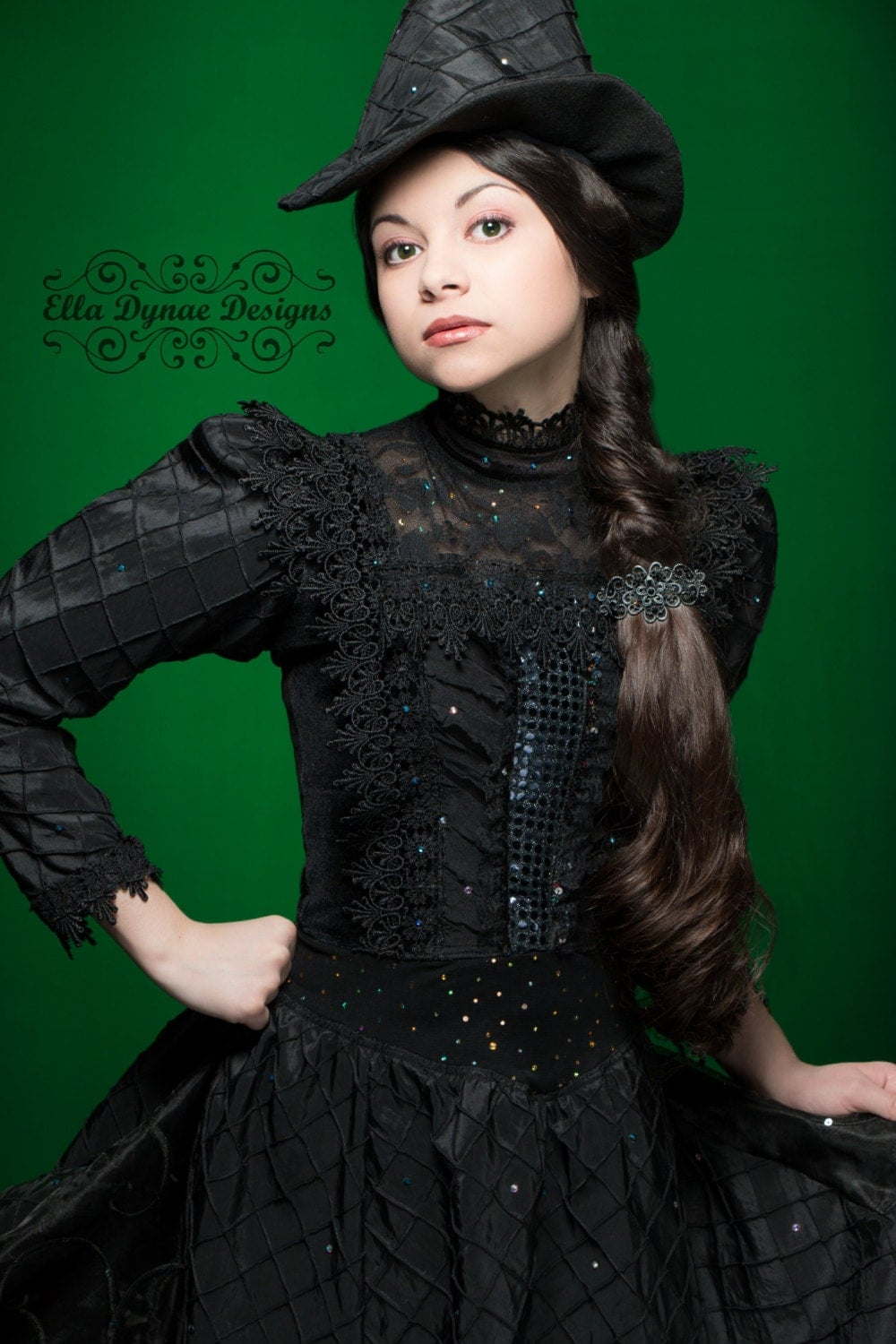 Deluxe Elphaba Wicked Witch of the West Costume Inspired by