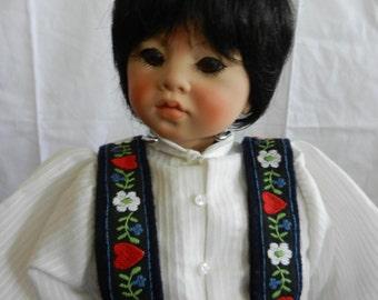 Doll Puyi by Artist Rotraut Schrott SALE