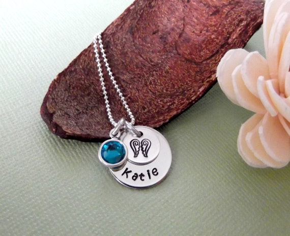 My Angel Necklace- Memorial Jewelry- Memorial/Remembrance Necklace- Loss Necklace