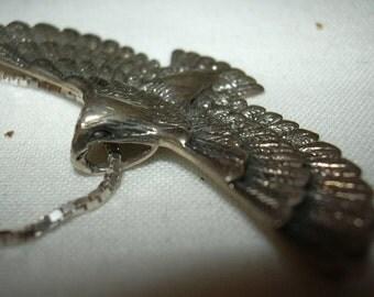 Bird of Prey .925 vintage silver