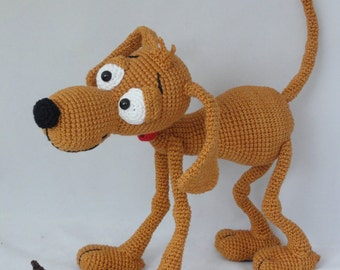 Amigurumi Crochet Pattern - Doug the Dog