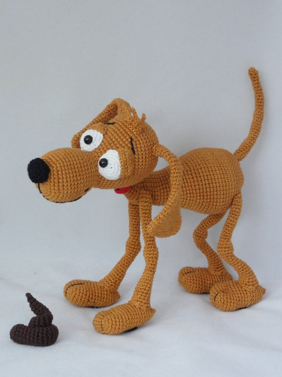 Amigurumi Crochet Pattern Doug The Dog