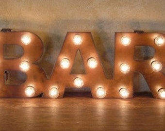 Bar sign light bulbs 28 images light up fairground bulb sign by bar sign light bulbs aloadofball Image collections