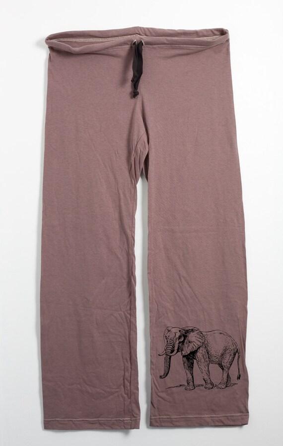 Amazing  Leg Pants Elephant Pattern QuotVisaquot At Amazon Womens Clothing Store