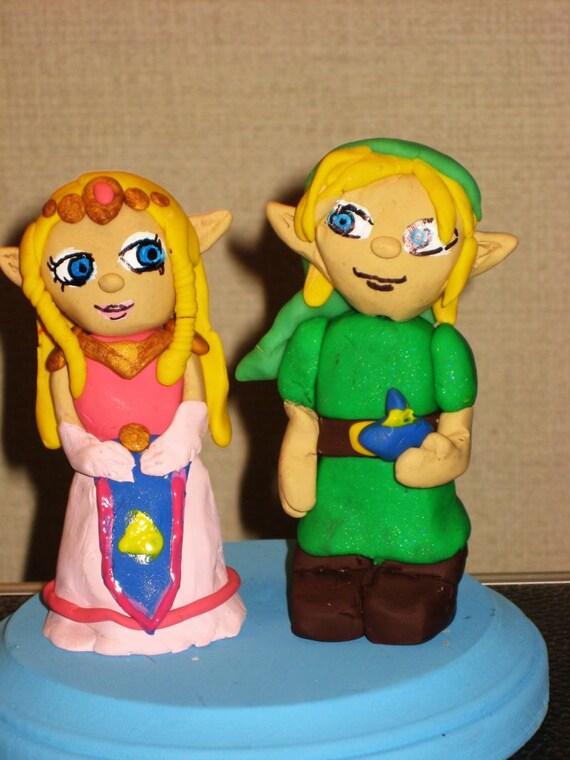 Etsy Zelda Wedding Cake Topper Custom Wedding Cake Topper