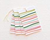 Gift Tags Birthday Favor Tags Christmas Labels Striped Preppy Gift Tag Set Colorful Handmade Tags Gift Wrapping Birthday Party Favor Tags
